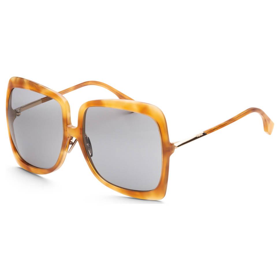 Fendi Fashion 62mm Havana Honey Women's Sunglasses
