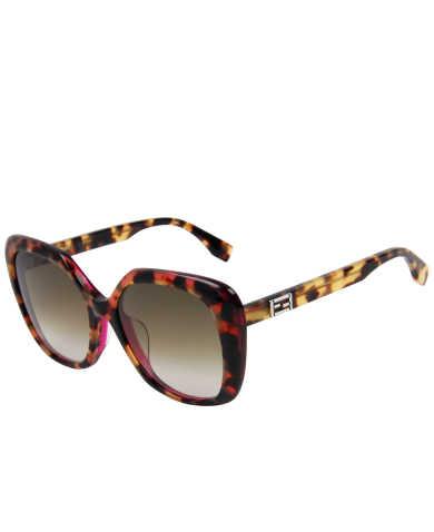 Fendi Women's Sunglasses FF0107F-S-D4Y-DB-56