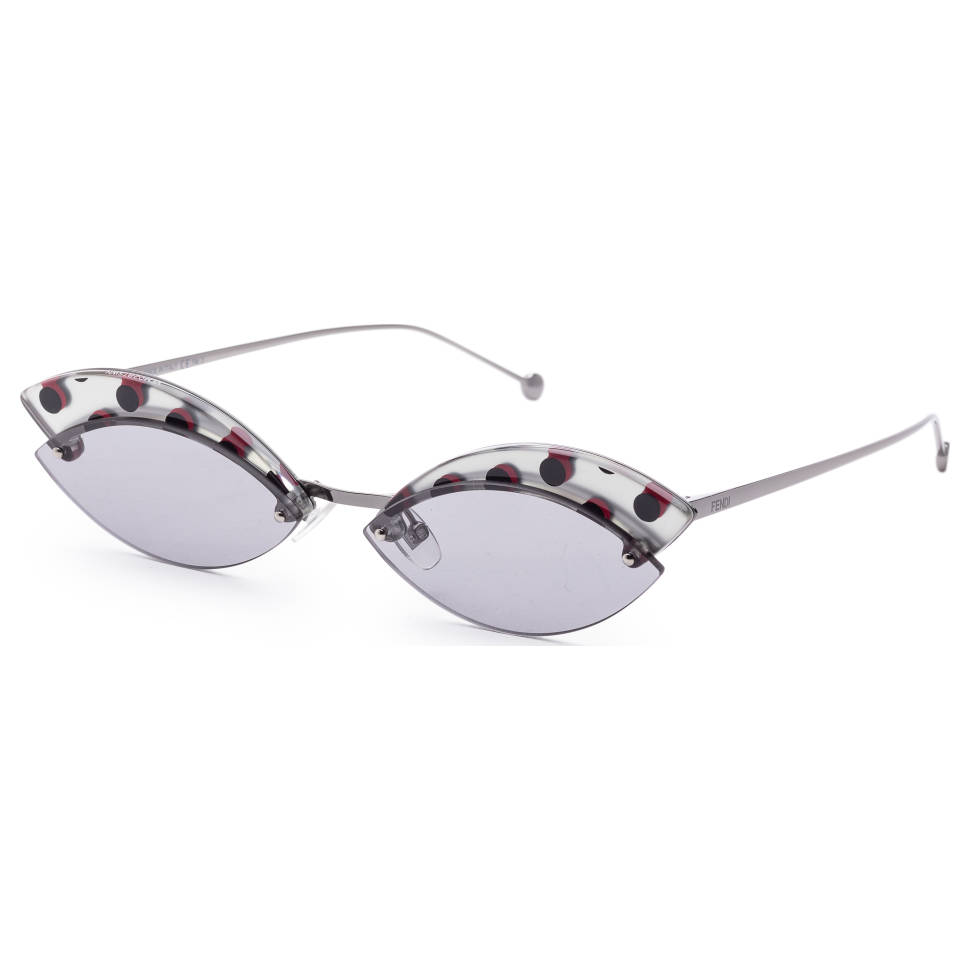 Fendi 58mm Geometric Frame Women's Sunglasses