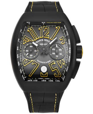 Franck Muller Men's Watch 45CCBLKBLKYEL