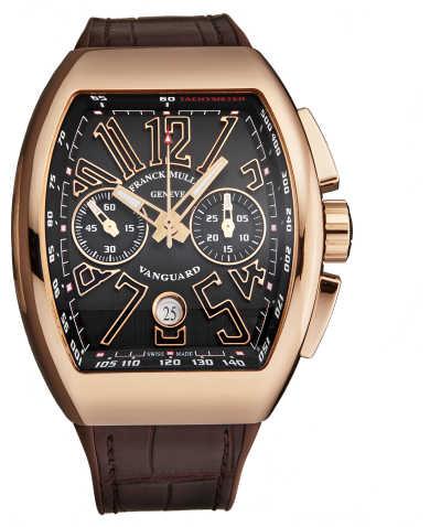 Franck Muller Men's Watch 45CCGLDBRNGLD1