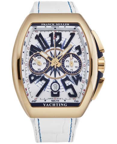 Franck Muller Men's Watch 45CCYACHTGLDWHT