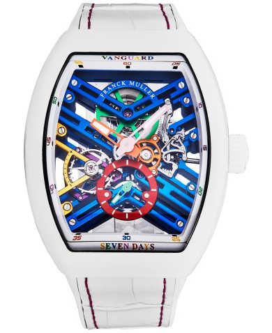 Franck Muller Men's Watch 45S6SQTWHTCOLBU
