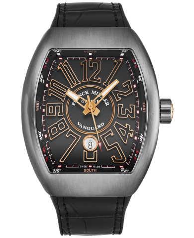 Franck Muller Men's Watch 45SCBLKBLKBRGD
