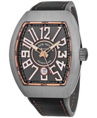 Franck Muller Men's Watch 45SCBLKBLKGRY