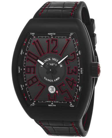 Franck Muller Men's Watch 45SCBLKBLKRED