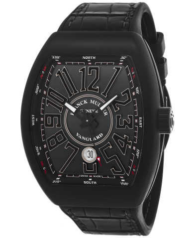 Franck Muller Men's Watch 45SCBLKBLKSIL