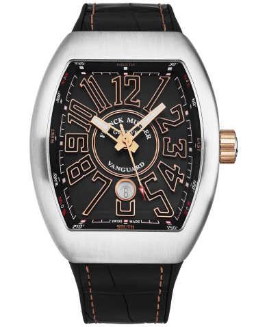 Franck Muller Men's Watch 45SCBLKBLKSTG5N