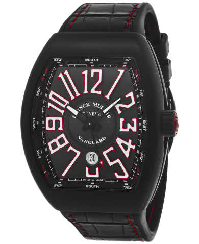 Franck Muller Men's Watch 45SCBLKBLKWHT