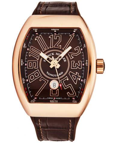 Franck Muller Men's Watch 45SCGLDBRNGLDBR