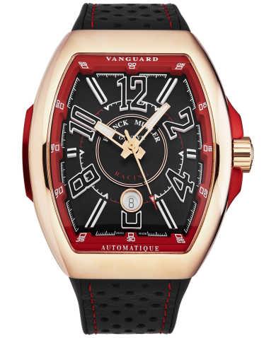 Franck Muller Men's Watch 45SCRCGBLKGLDRD
