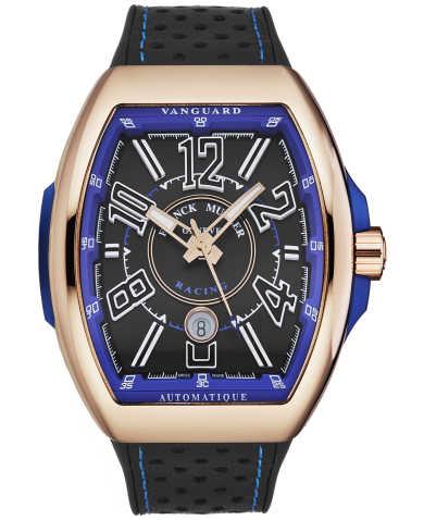 Franck Muller Men's Watch 45SCRCINGBLKGLD