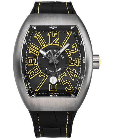Franck Muller Men's Watch 45SCSTLBLKYEL
