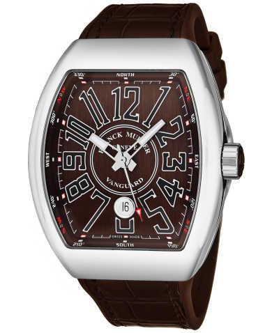 Franck Muller Men's Watch 45SCSTLBRNSHNY
