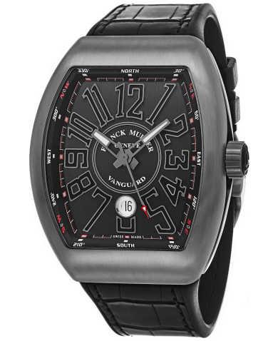 Franck Muller Men's Watch 45SCTTBRNRBLKWH