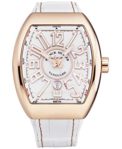 Franck Muller Men's Watch 45SCWHTWHTGLDSN