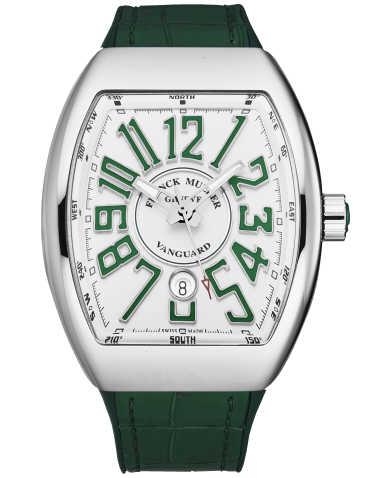 Franck Muller Men's Watch 45SCWHTWHTGRN