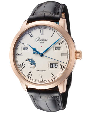 Glashutte Senator Perpetual Calendar Men's Automatic Watch 100-02-22-05-05