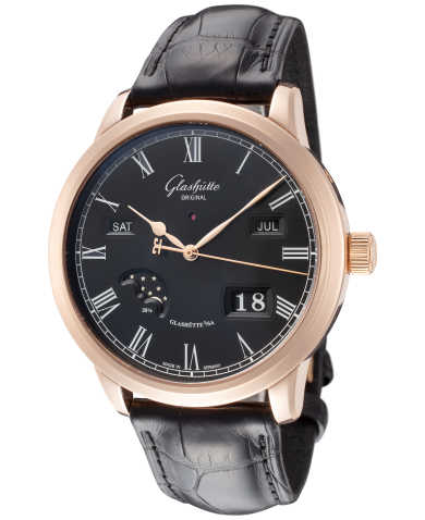 Glashutte Senator Perpetual Calendar Men's Automatic Watch 100-02-25-05-05