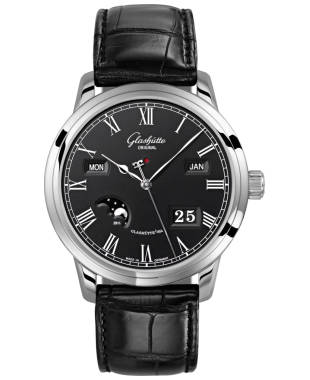 Glashutte Senator Perpetual Calendar Men's Automatic Watch 100-02-25-12-05
