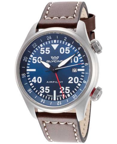 글라이신 남성 손목 시계 Glycine Airpilot GMT Mens Watch GL0351