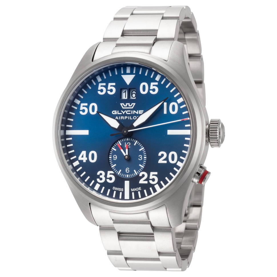 Glycine Airpilot Dual Time Men's Watch