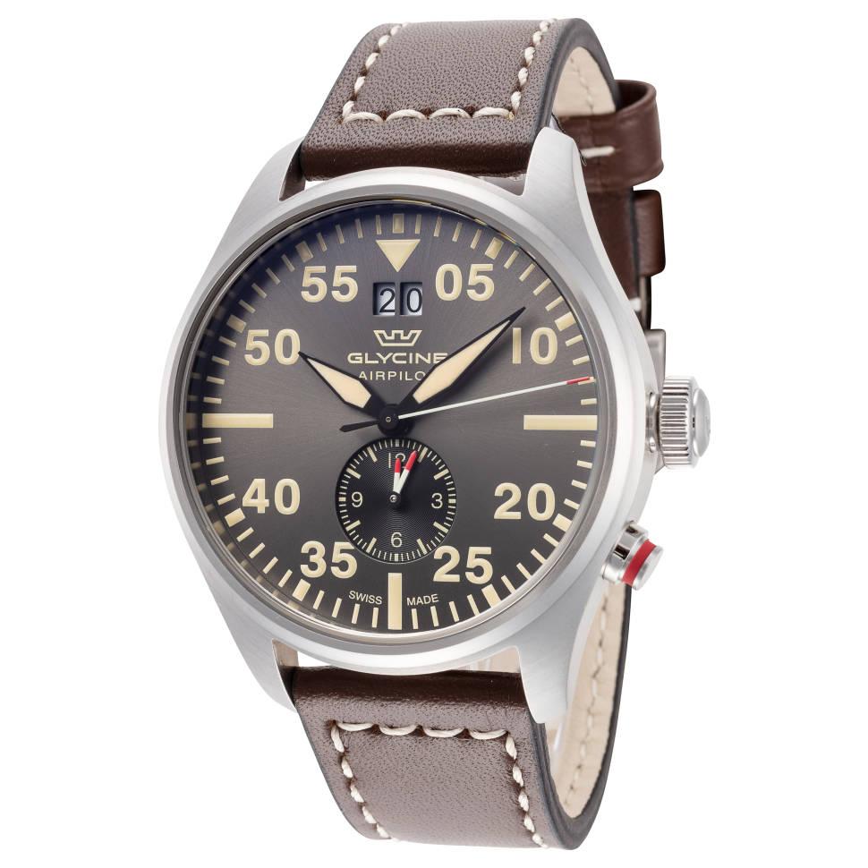 Glycine Airpilot Dual 44mm Quartz Men's Watch