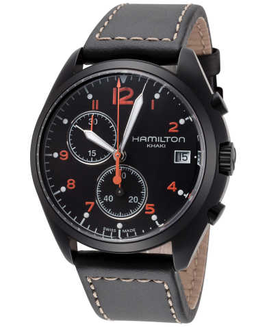 Hamilton Khaki Aviation Pilot Pioneer Chrono Quartz Men's Watch H76582733