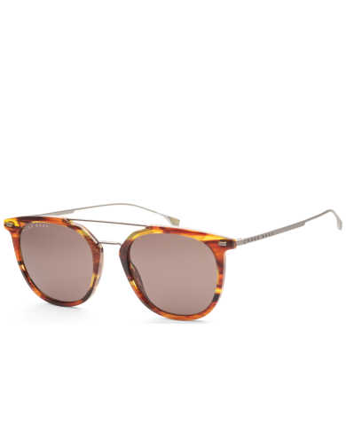 Hugo Boss Men's Sunglasses B1013S-0EX4-IR-53