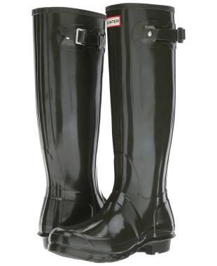 Hunter Original Tall Gloss Rain Boots WFT1000RGL-DOV-5