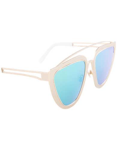 Irresistor Women's Sunglasses BARBARELLA-GOLDS-GOLDSKYBLUE-0