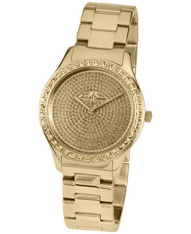 Jacques Lemans Women's Quartz Watch 1-1841ZK