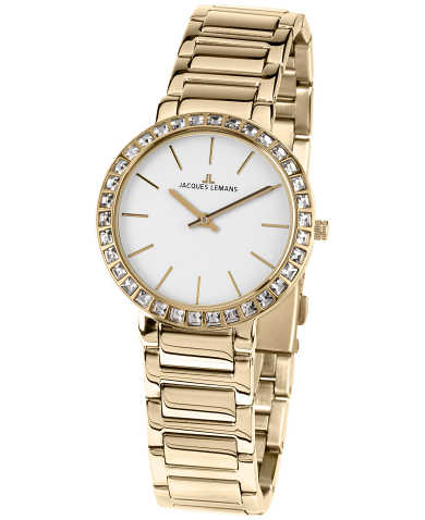 Jacques Lemans Women's Quartz Watch 1-1843-1E