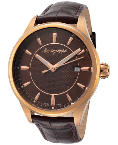 Montegrappa Men's Quartz Watch IDFOWAMM
