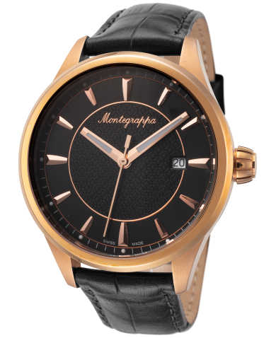 Montegrappa Men's Quartz Watch IDFOWARC