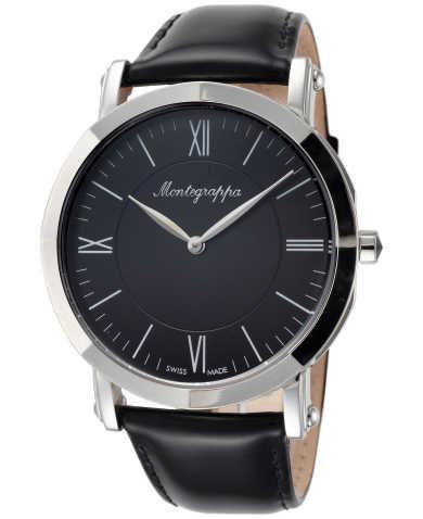 Montegrappa Men's Quartz Watch IDNMWAIC