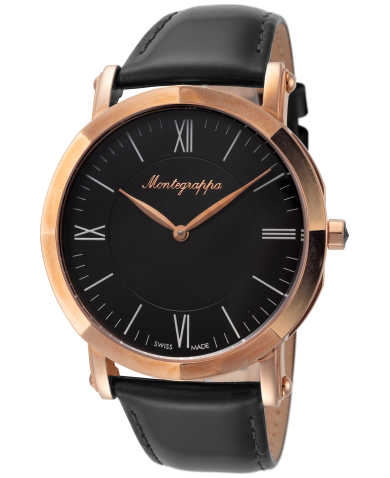 Montegrappa NeroUno Slim IDNMWARC Men's Watch