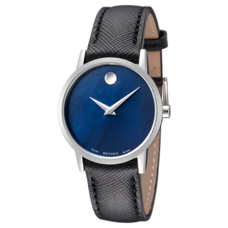 Movado 0607422 Museum Classic Ladies Quartz Watch