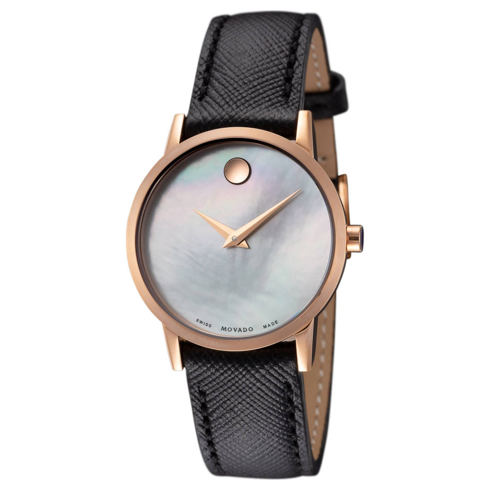 Movado Museum Classic Quartz Mother of Pearl Dial Ladies Watch