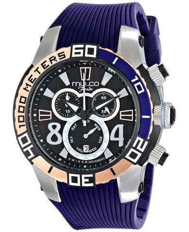 Mulco Fondo Wheel MW1-74197-044 Men's Watch