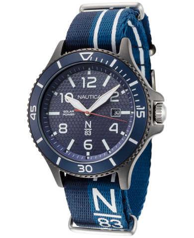 Nautica Men's Quartz Solar Watch NAPCBS903