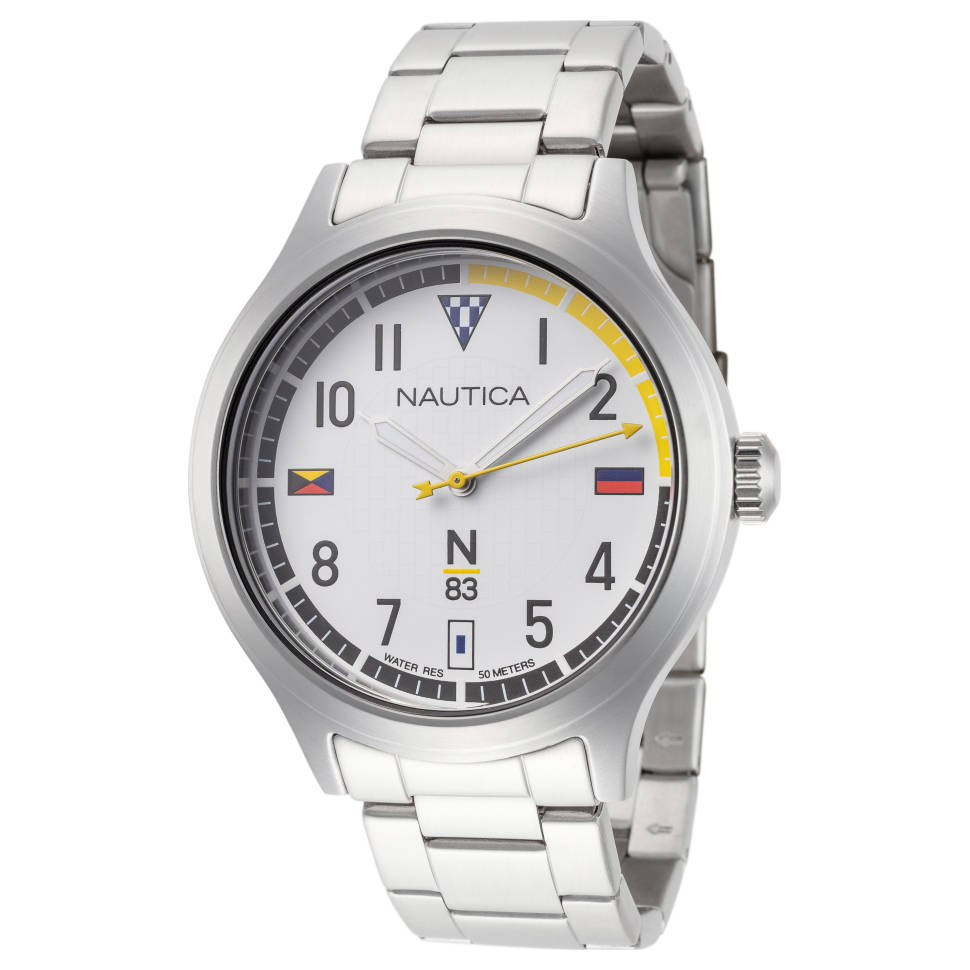 Nautica Crissy Field Quartz Men's Bracelet Watch
