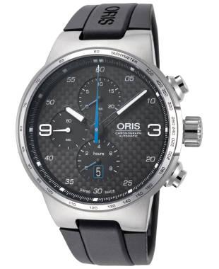 Oris Williams Chronograph Men's Automatic Watch 01-774-7717-4164-07-4-24-50FC
