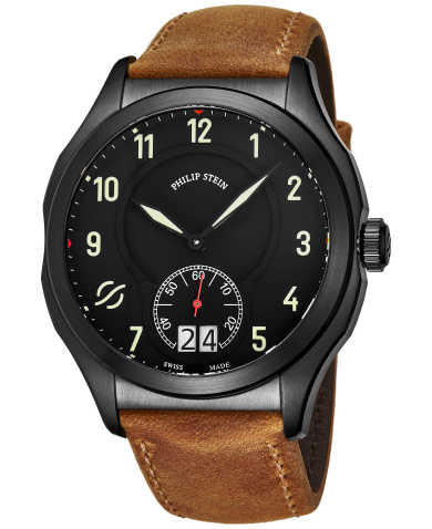 Philip Stein Men's Watch 17BSBKLCASTM