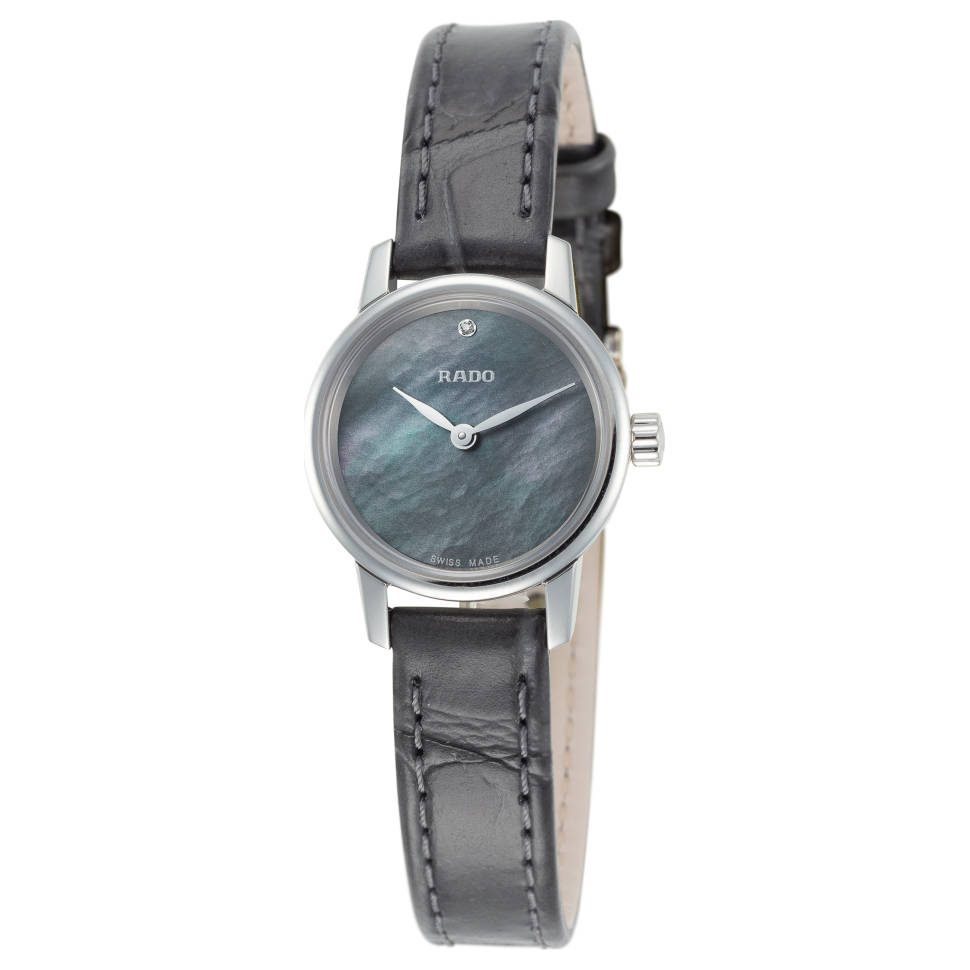 Rado Coupole Classic Black Mother of Pearl Dial Women's Watch