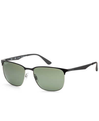 Ray-Ban Unisex Sunglasses RB3569-90049A-59