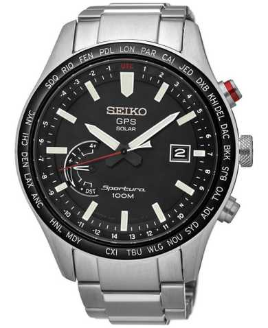 Seiko Men's Quartz Solar Watch SSF003