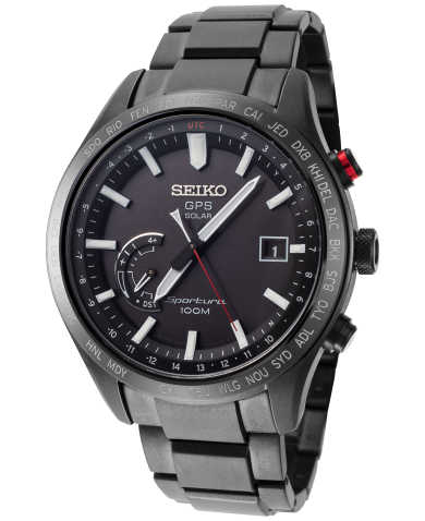 Seiko Men's Quartz Solar Watch SSF005