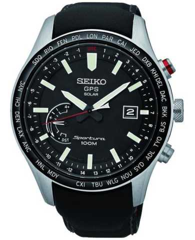 Seiko Men's Quartz Solar Watch SSF007