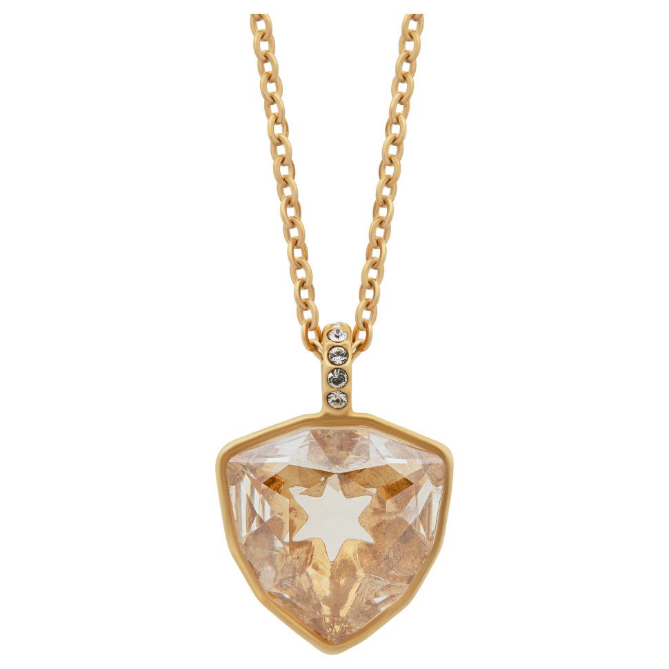 Swarovski Mastery 23K Yellow Gold-Plated Crystal Necklace
